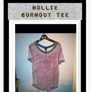 NOLLIE soft burnout tee